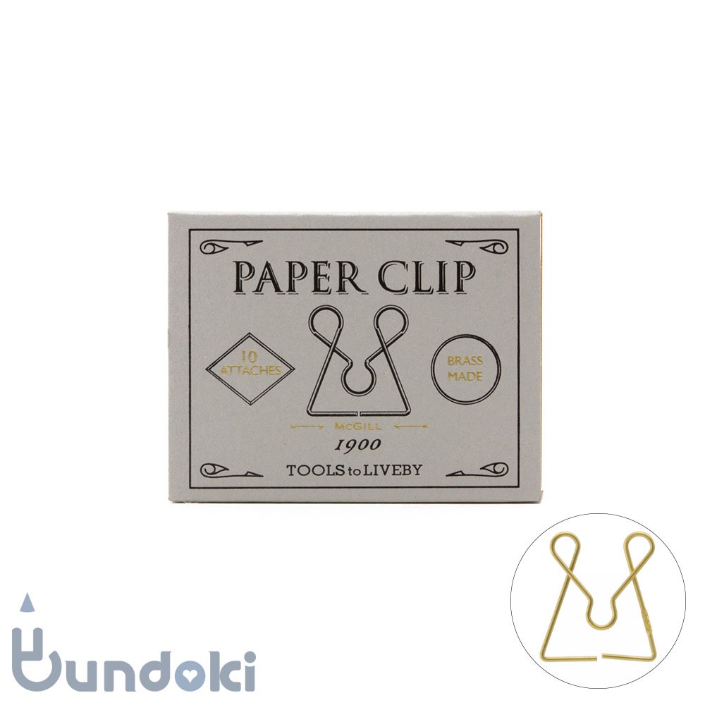 【TOOLS to LIVEBY/ツールズ トゥ リブバイ】Paper Clip /ペーパークリップ 1900 (F)