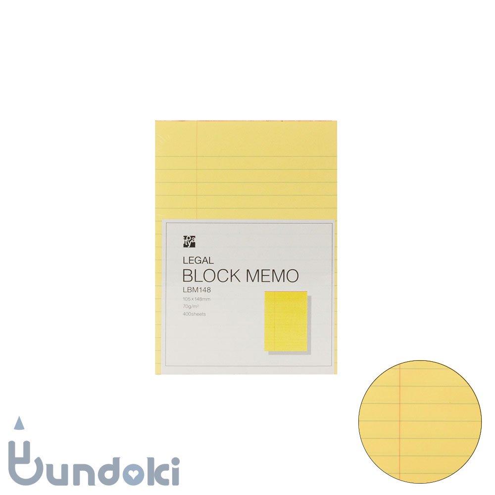 【ITO-YA/伊東屋】リーガルブロックメモ・105×148mm