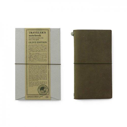 【MIDORI/ミドリ】TRAVELER'S notebook OLIVE EDITION / トラベラーズノート・オリーブエディション
