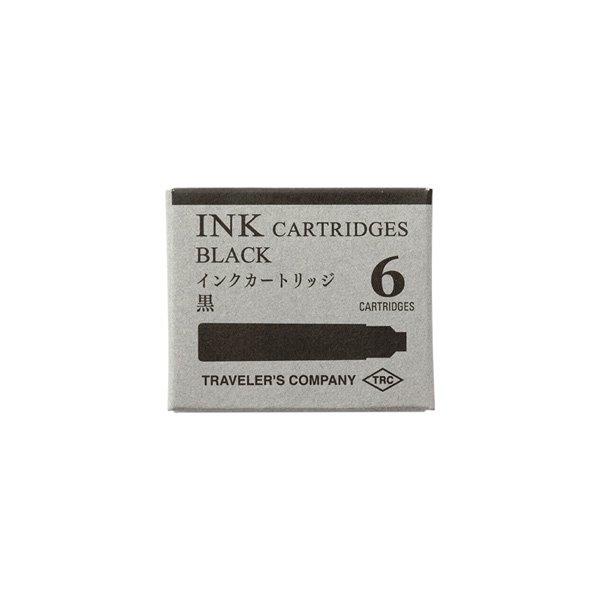【MIDORI/ミドリ】TRC 万年筆用 カートリッジ (黒)