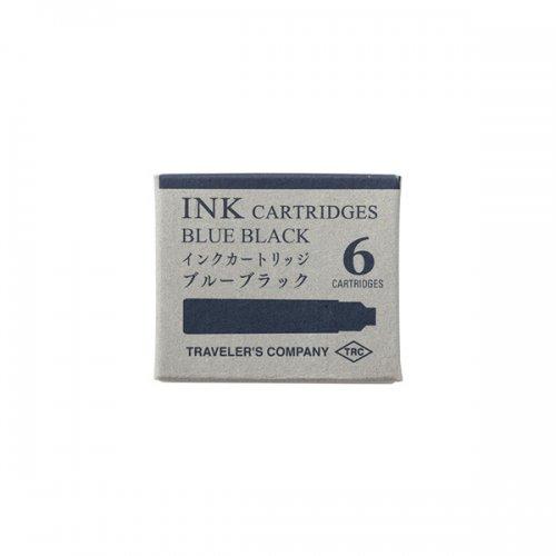 【MIDORI/ミドリ】TRC 万年筆用 カートリッジ (ブルーブラック)
