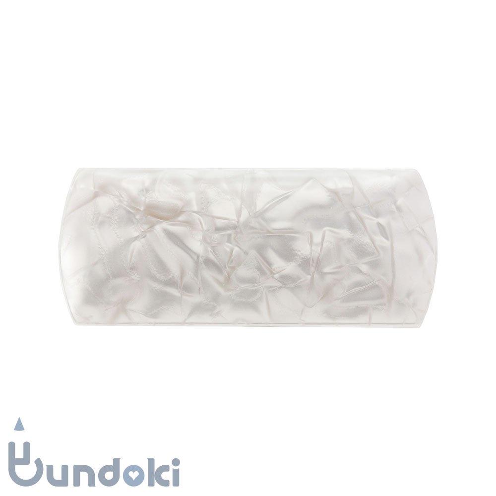 セルロイド メガネケース (白)