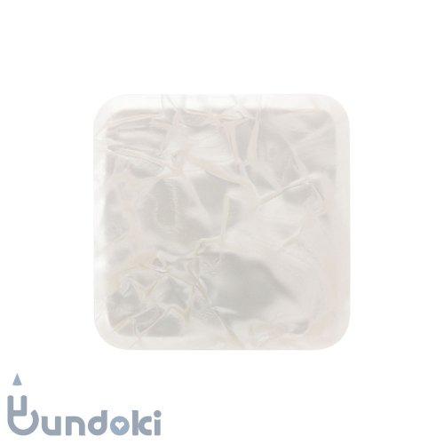 セルロイド 小物入れ・正方形 (白)
