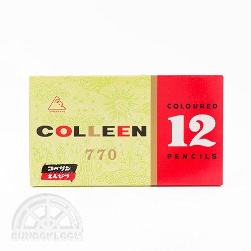 【コーリン色鉛筆/colleen】770色鉛筆(12色)
