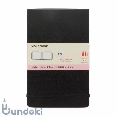 【MOLESKINE/モレスキン】ハードカバー 水彩画用ノートブック/ラージ