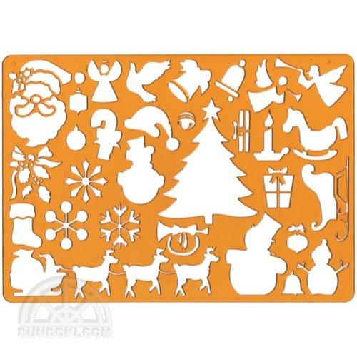 【KOH-I-NOOR/コヒノール】テンプレート(CHRISTMAS/クリスマス)