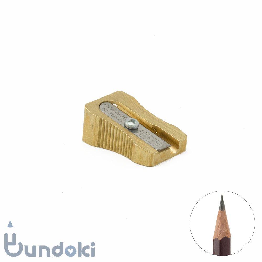 【M+R/Mobius+Ruppert】wedge-shaped 真鍮製1穴シャープナー