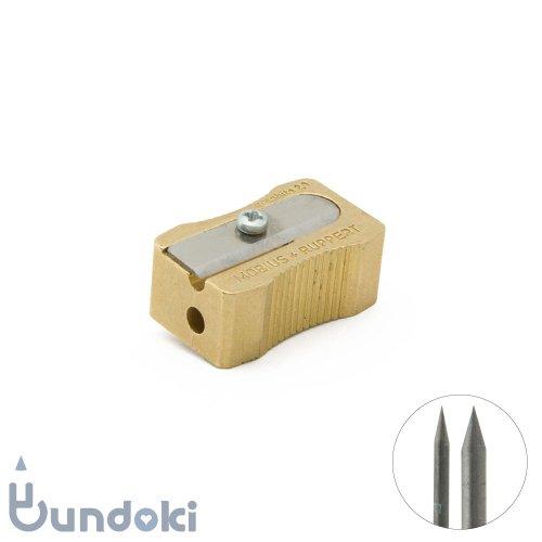 【M+R/Mobius+Ruppert】Minofix / 真鍮製2穴芯研器 (2mm/3.2mm用)