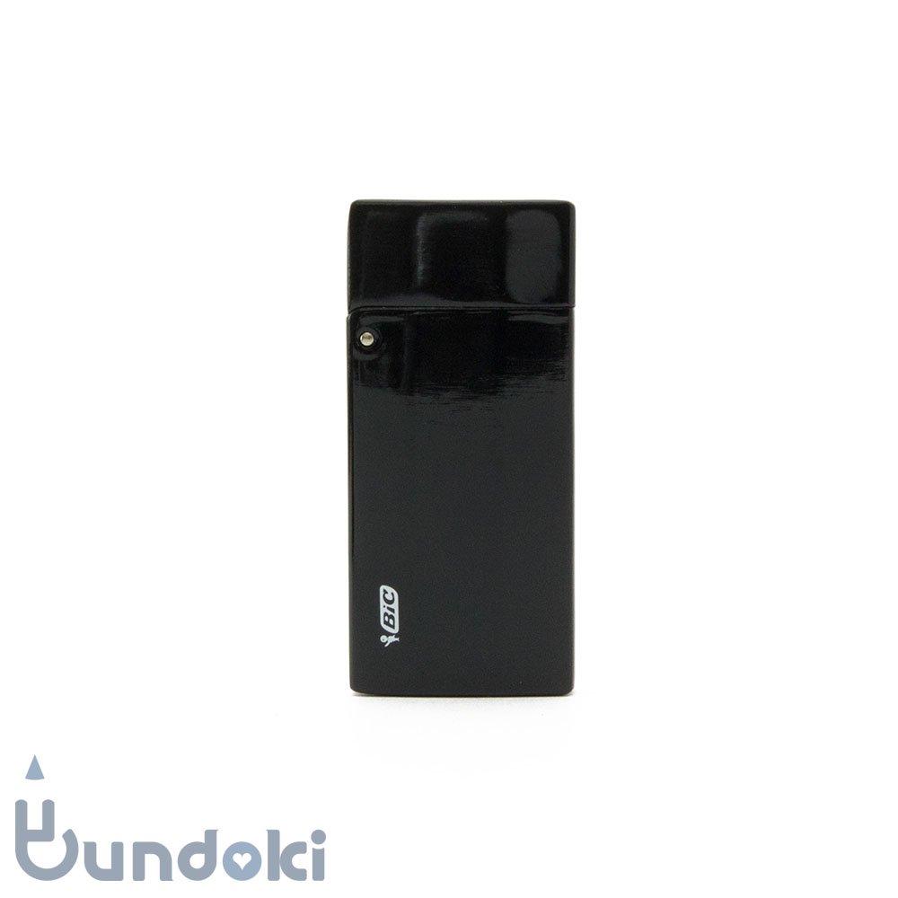 【BIC/ビック】ライターケース付き J25 ミニライターM3 (黒)