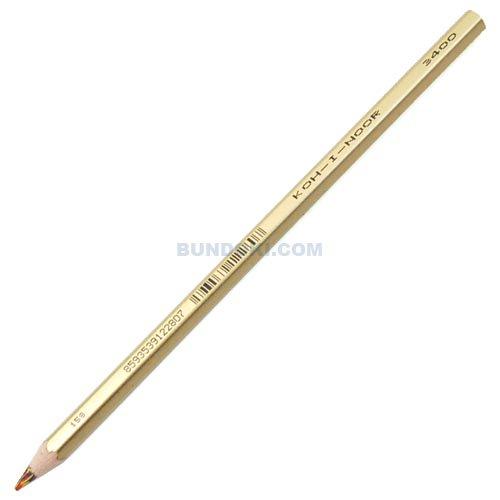 【KOH-I-NOOR/コヒノール】マーブル色鉛筆3400/金色軸