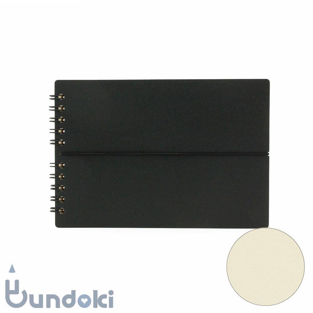 【つくし文具店】つくしリングノート (クロ)