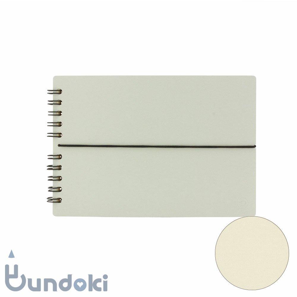 【つくし文具店】つくしリングノート (グレー)