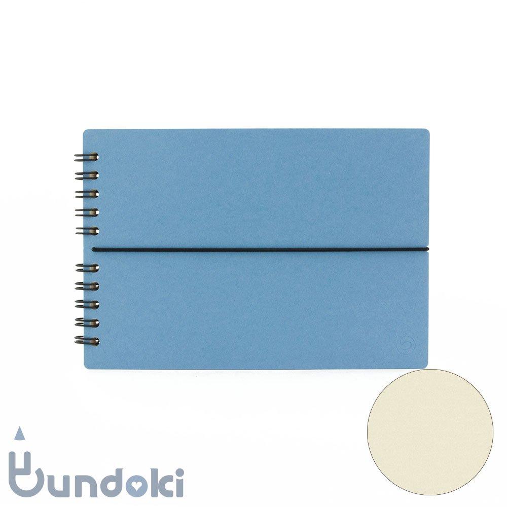 【つくし文具店】つくしリングノート (アオ)