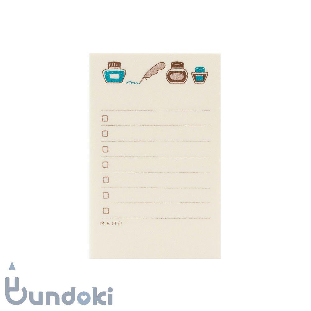 【古川紙工】文ぼう具TODO LIST (インクと羽ペン)