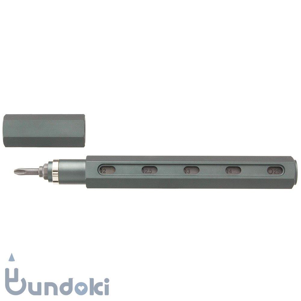 【mininch/ミニンチ】Tool Pen Premium Edition - 16ビット (ガンメタル)