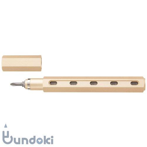 【mininch/ミニンチ】Tool Pen Premium Edition - 16ビット (シャンパンゴールド)