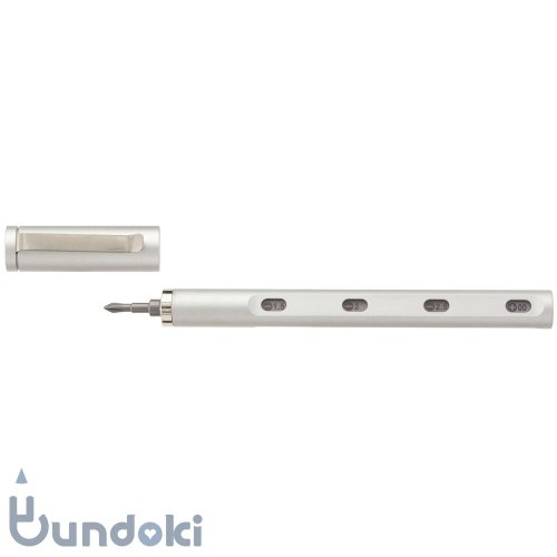 【mininch/ミニンチ】Tool Pen mini Aplus Edition - 22ビット (スノーシルバー)