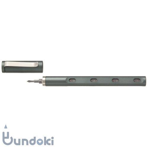 【mininch/ミニンチ】Tool Pen mini Aplus Edition - 22ビット (ガンメタル)
