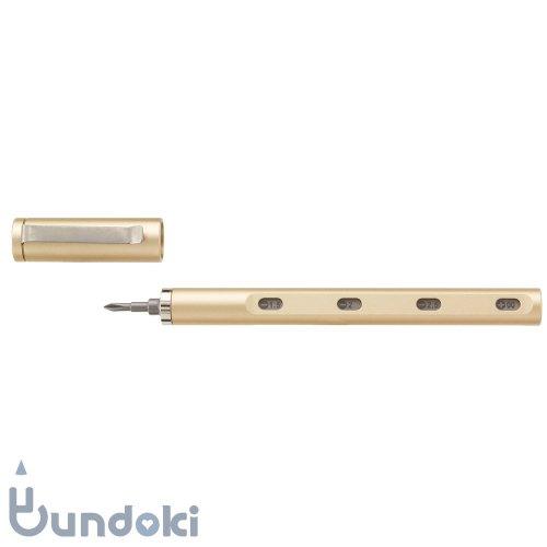【mininch/ミニンチ】Tool Pen mini Aplus Edition - 22ビット (シャンパンゴールド)