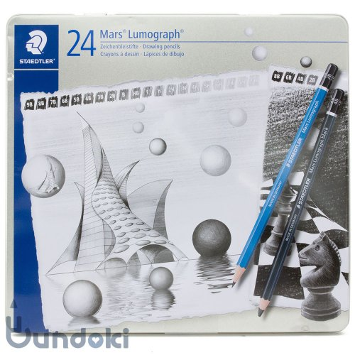 【STAEDTLER/ステッドラー】マルスルモグラフアソート・24本セット
