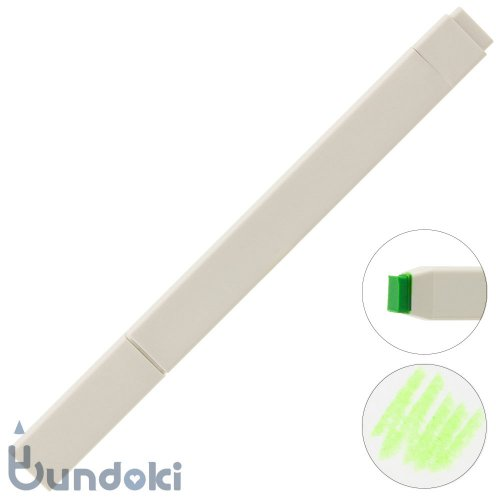 【KOKUYO/コクヨ】Drawing + / Drawing Marker (蛍光グリーン)