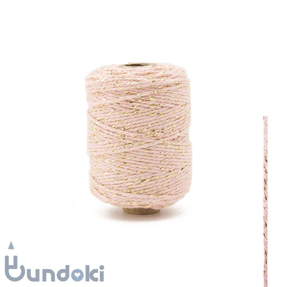 【Vivant】Cotton lurex twist /コットン ルレックス ツイスト (マーブルローズ)
