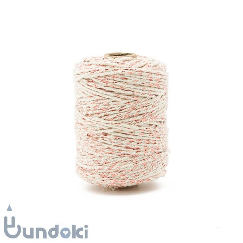 【Vivant】Cotton lurex twist /コットン ルレックス ツイスト (ローズゴールド)