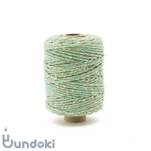 【Vivant】Cotton lurex twist /コットン ルレックス ツイスト (ライトオリーブ)