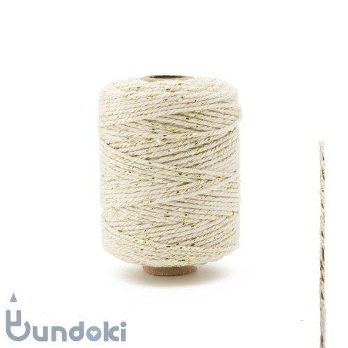 【Vivant】Cotton lurex twist /コットン ルレックス ツイスト (アイボリー)