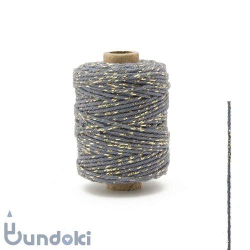 【Vivant】Cotton lurex twist /コットン ルレックス ツイスト (ダークグレー)