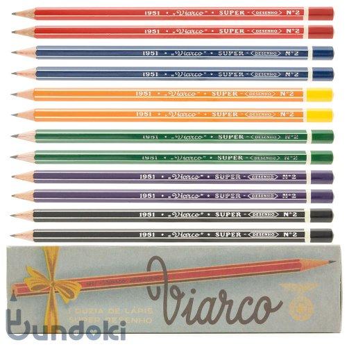 【VIARCO/ビアルコ】ヴィンテージ・ペンシル1951 (12本セット)