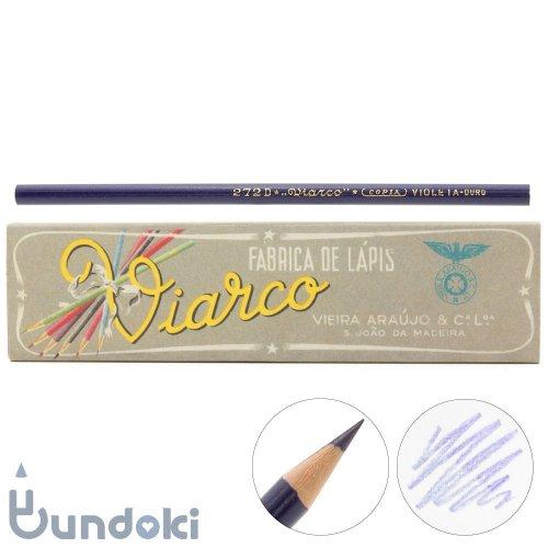【VIARCO/ビアルコ】ヴィンテージ・ペンシル バイオレット272D (12本セット)