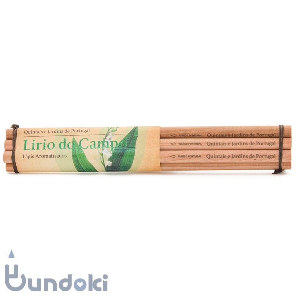 【VIARCO/ビアルコ】香りつきペンシル・6本セット (リリオカンポ/ゆり)
