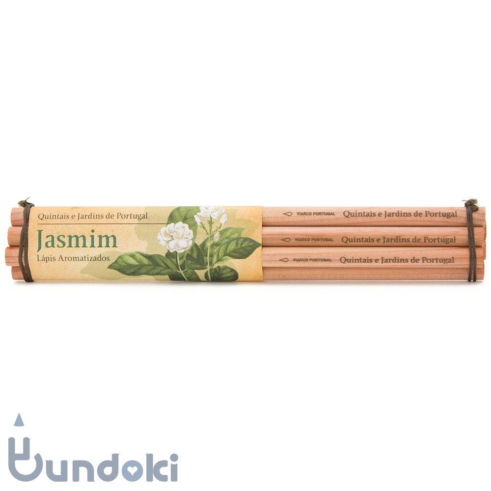 【VIARCO/ビアルコ】香りつきペンシル・6本セット (ジャスミン)