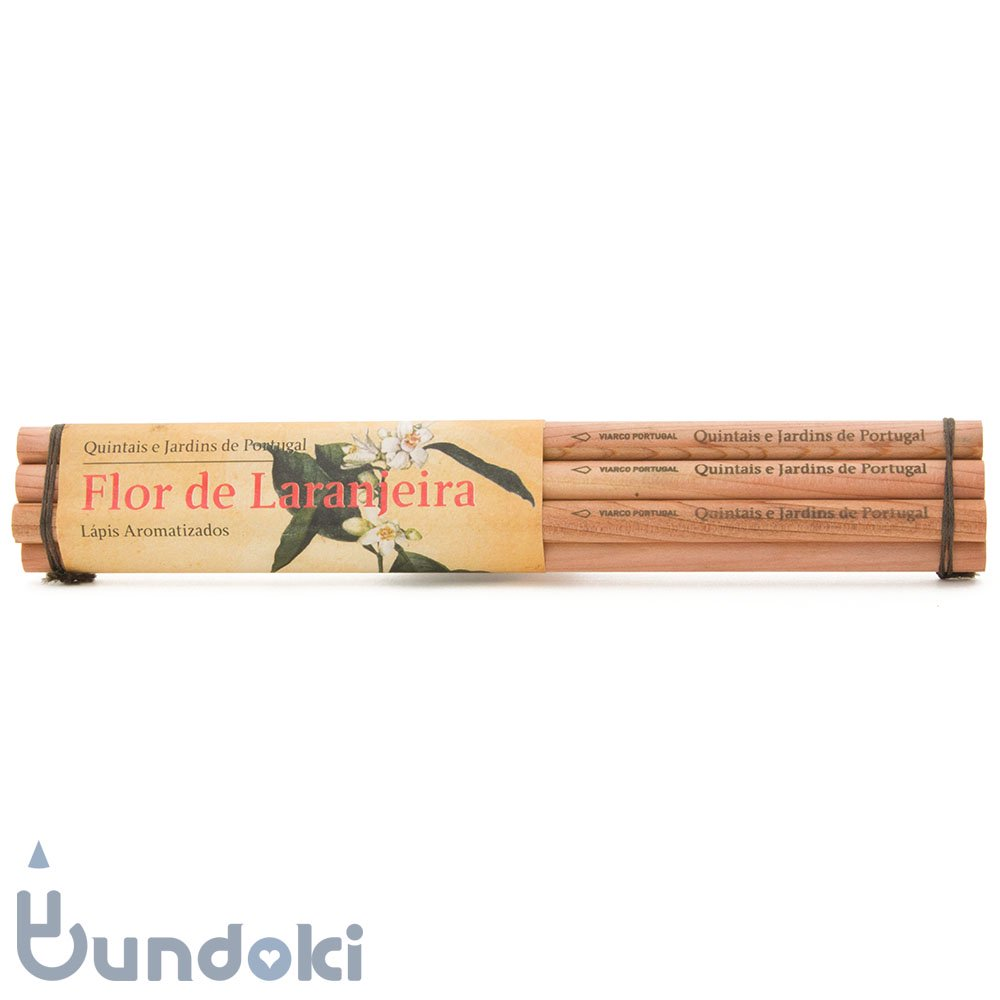 【VIARCO/ビアルコ】香りつきペンシル・6本セット (ロール デ ララニエイラ/オレンジの花)