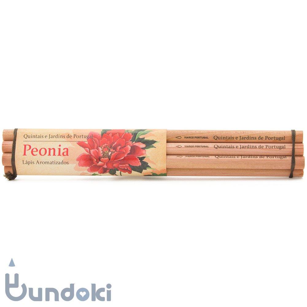 【VIARCO/ビアルコ】香りつきペンシル・6本セット (ペオニア/牡丹)