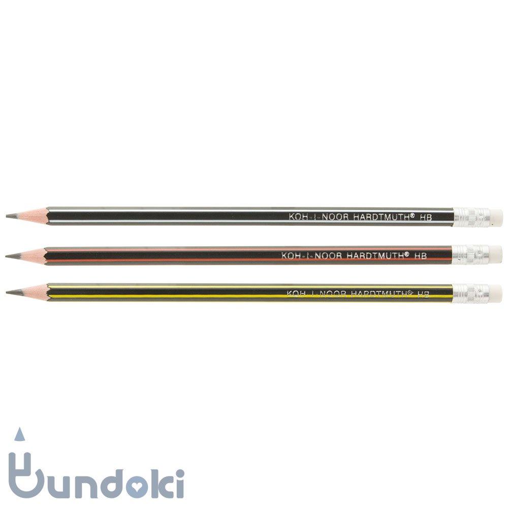 【KOH-I-NOOR/コヒノール】消しゴム付き鉛筆 1397(硬度:HB)