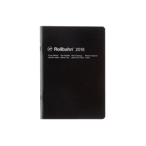 【Delfonics/デルフォニックス】2018年 ロルバーンノートダイアリー・B6 (ブラック)