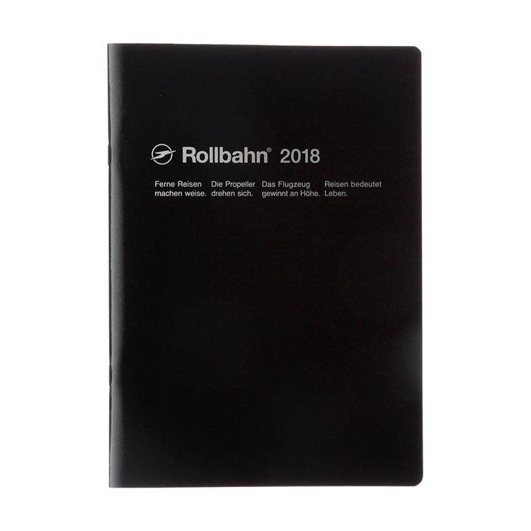 【Delfonics/デルフォニックス】2018年 ロルバーンノートダイアリー・B5 (ブラック)