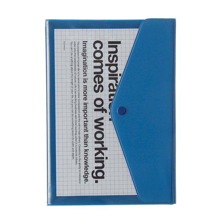 【Delfonics/デルフォニックス】2018年ダイアリー・A5マンスリー ポケット (ブルー)