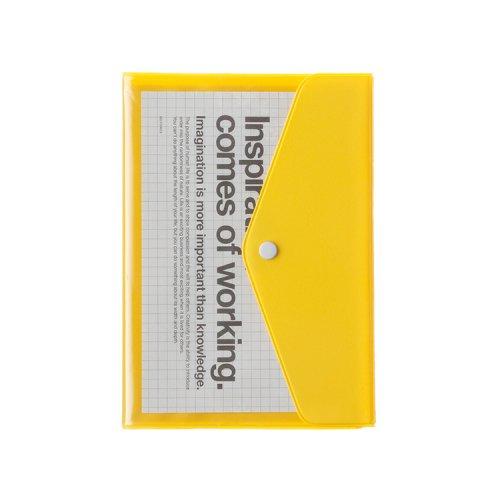 【Delfonics/デルフォニックス】2018年ダイアリー・B6マンスリー ポケット (イエロー)