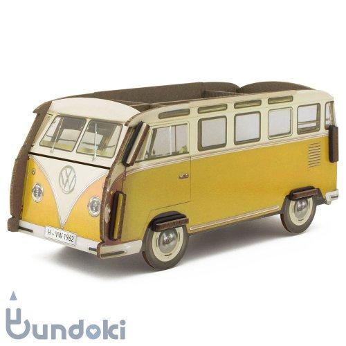 【werkhaus/ヴェルクハウス】ペンボックス VW-Bus (イエロー)