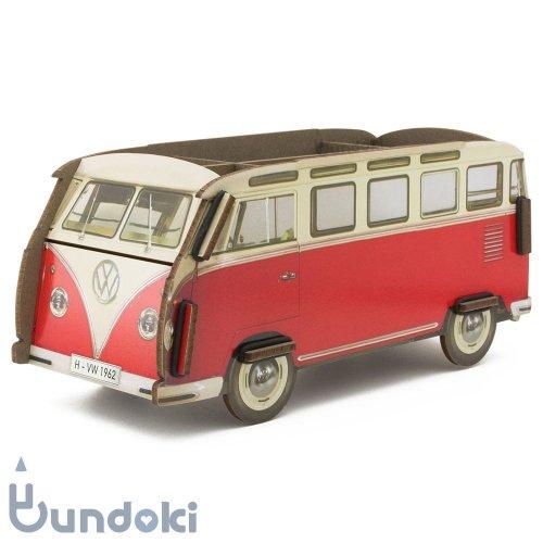 【werkhaus/ヴェルクハウス】ペンボックス VW-Bus (レッド)