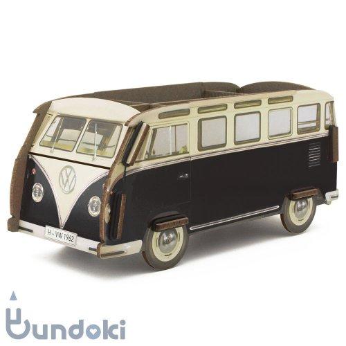 【werkhaus/ヴェルクハウス】ペンボックス VW-Bus (ブラック)
