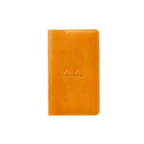 【RHODIA/ロディア】マンスリーダイアリーwith Cover 7.7x13cm (オレンジ)
