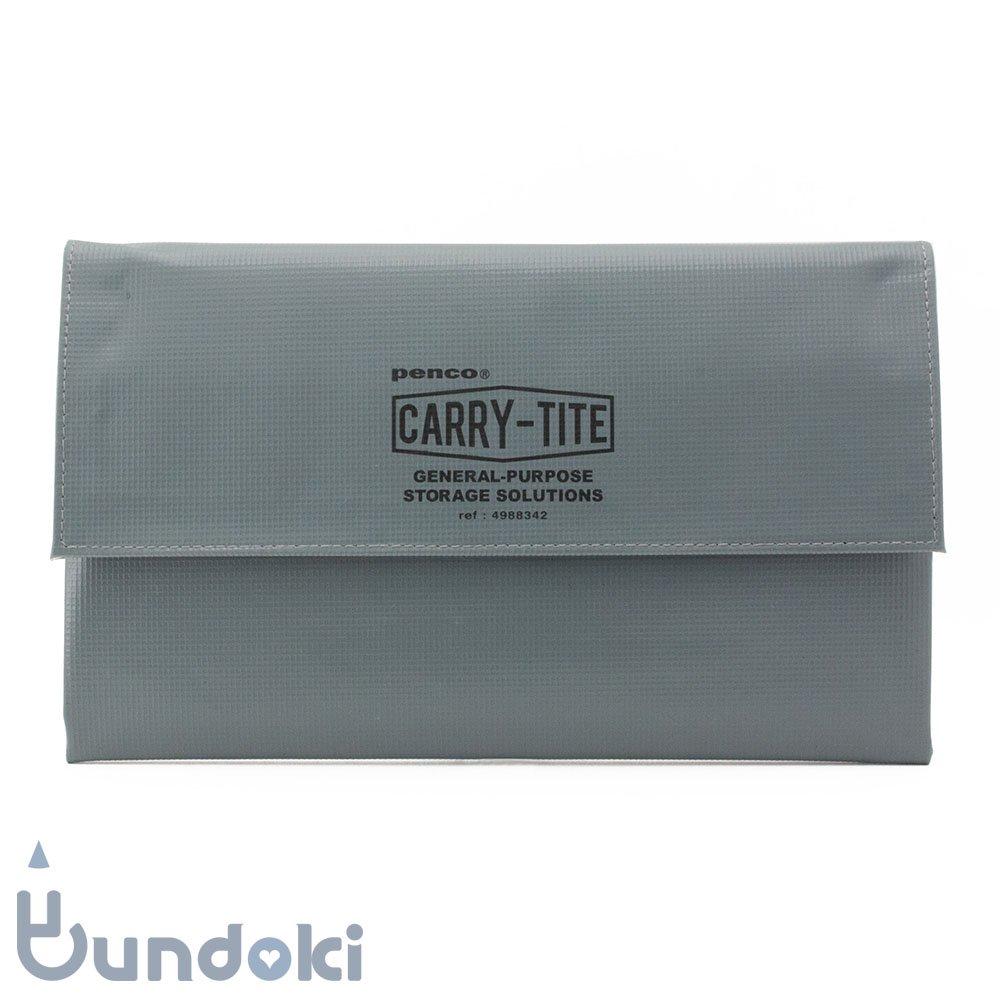【HIGHTIDE/ハイタイド】penco キャリータイト・L (グレー)