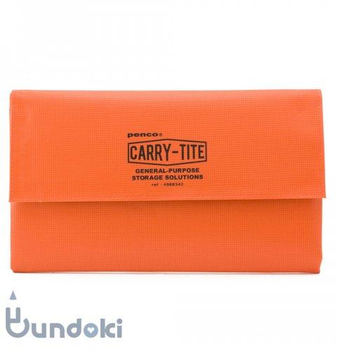 【HIGHTIDE/ハイタイド】penco キャリータイト・L (オレンジ)