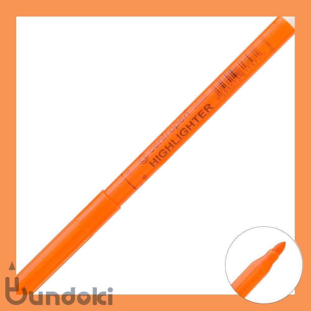 【centropen/セントロペン】HIGHLIGHTER / ハイライター2532 (オレンジ)
