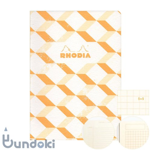 【RHODIA/ロディア】COLLECTION HERITAGE/かがり綴じノートブック 方眼・A5 (エッシャー/アイボリー)