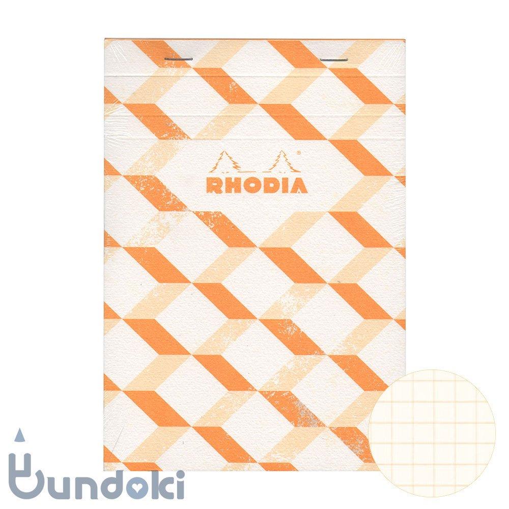 【RHODIA/ロディア】COLLECTION HERITAGE/ブロックロディア No.16 (エッシャー/アイボリー)